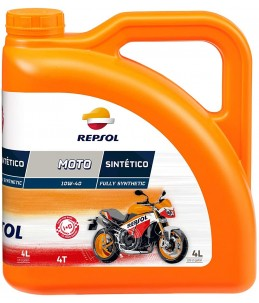 Repsol Moto Sintético 4T 10W40